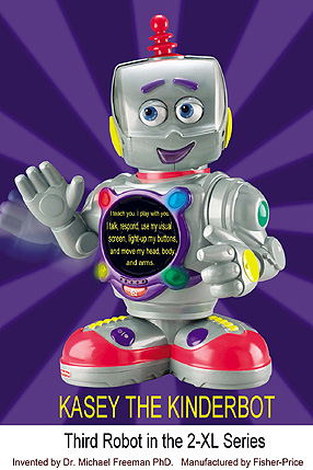 World Of 2 Xl Kasey The Kinderbot