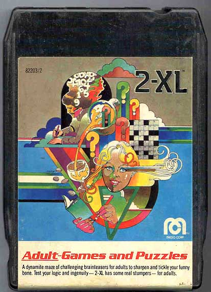 Adult - Games & Puzzles aka Games & Puzzles II. Release Date: 1978